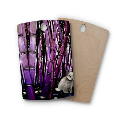 Theresa Giolzetti Birchwood Bamboo Bunny Cutting Board Shape: Rectangle