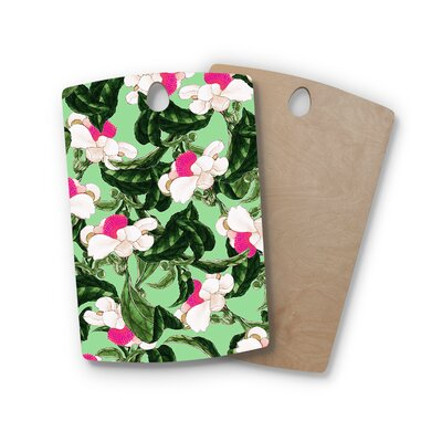 Birchwood Royal Florals Illustration Cutting Board Shape: Rectangle