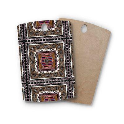 Victoria Krupp Birchwood Tibet Mandala Illustration Cutting Board Shape: Rectangle