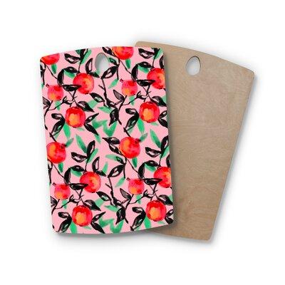 Victoria Krupp Birchwood Pomegranate Tree Digital Cutting Board Shape: Rectangle