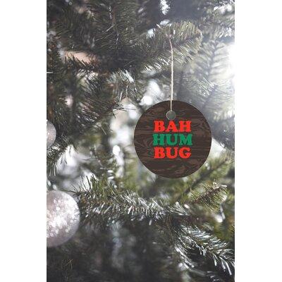 Zoe Wodarz Bah Humbug Round Shaped Ornament