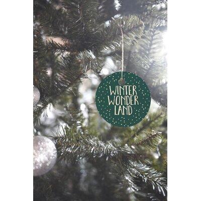 Zoe Wodarz Winter Wonder Round Shaped Ornament