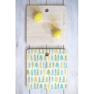 Heather Dutton Wood Oh Christmas Tree Frost Cutting Board Shape: Square