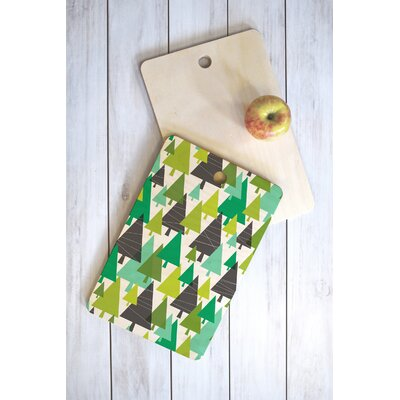 Heather Dutton Wood Winter Cutting Board Shape: Rectangle
