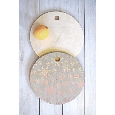 Iveta Abolina Wood Lapland Cutting Board Shape: Round