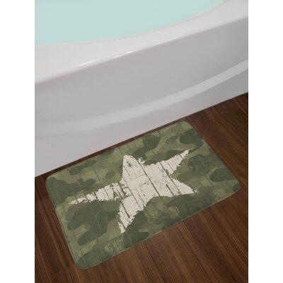 East Urban Home Camouflage Bath Rug