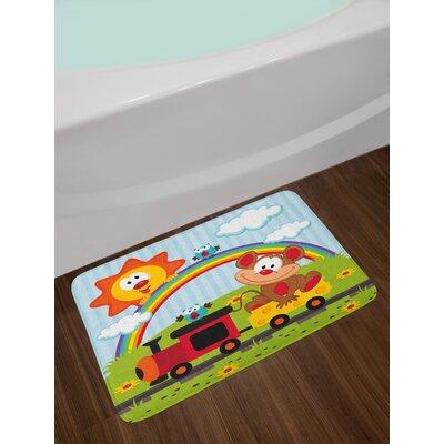 Mouse Nursery Bath Rug