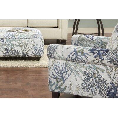 Longstreet Armchair Upholstery: Coral Reef Oceanside