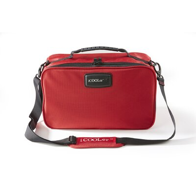 Freezable Lunch and Beverage Bag Cooler Color: Red