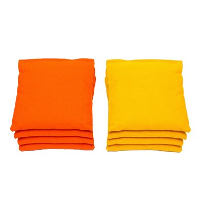 Cornhole Bag Bean Bag Color: Orange/Yellow