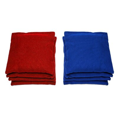 Personalized BBQ Cornhole Set Bag Color: Red/Royal