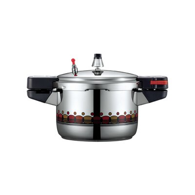 Vienna 10-Cup Stainless Steel Pressure Cooker