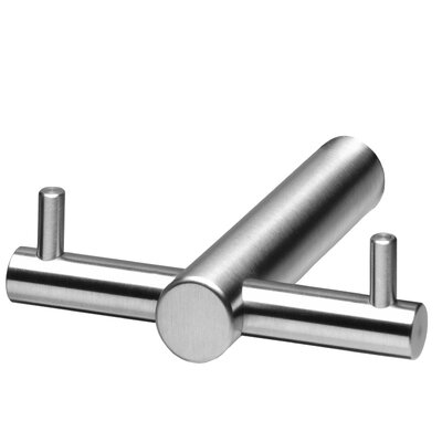 Intersteel Wall Mounted T-Form Towel/Clothes Hook