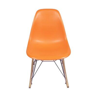 Rocking Chair Color: Orange