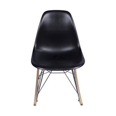 Rocking Chair Color: Black