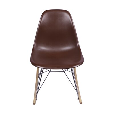 Rocking Chair Color: Brown