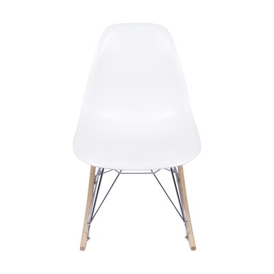 Rocking Chair Color: White