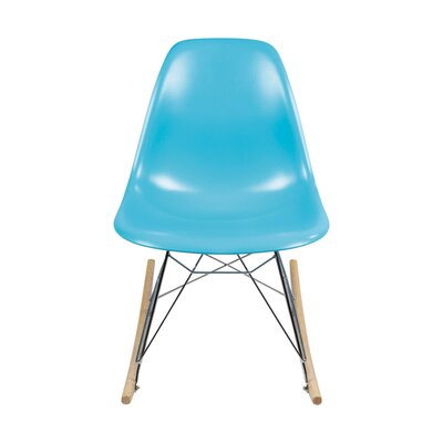 Rocking Chair Color: Blue