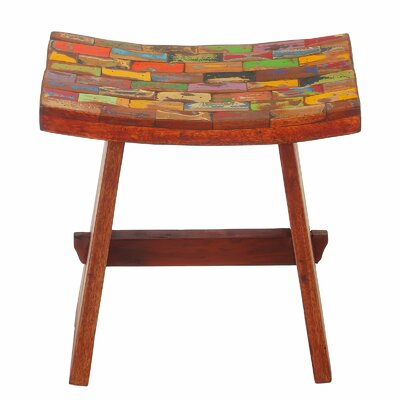 Sinead Reclaimed Wood Accent Stool