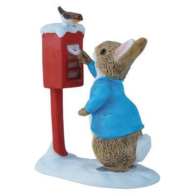Beatrix Potter Peter Rabbit Posting Letter Figure