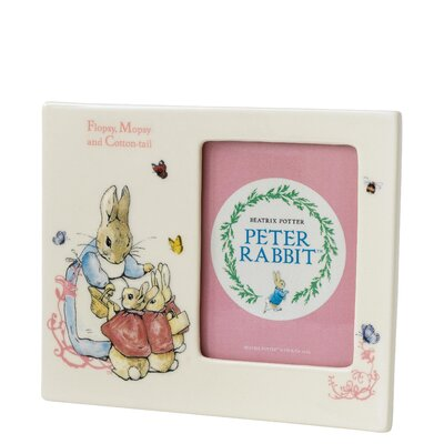 Beatrix Potter Flopsy Mopsy and Cotton Tail Picture Frame