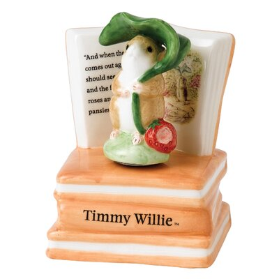 Beatrix Potter Timmy Willie Musical Figure