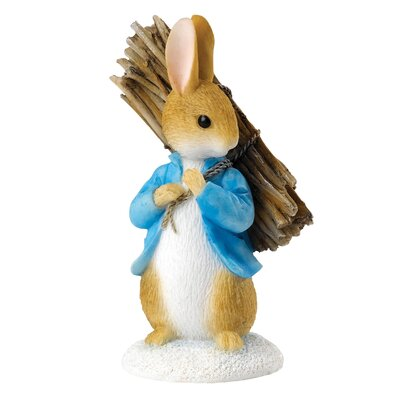Beatrix Potter Peter Carrying Sticks Figure