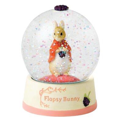 Beatrix Potter Flopsy Water Ball Figure