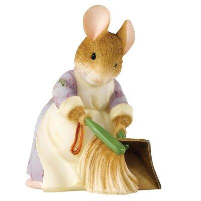 Beatrix Potter Hunca Munca Sweeping Figure