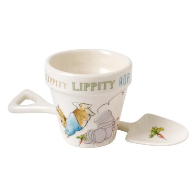 Beatrix Potter Peter Rabbit Egg Cup and Spoon Set