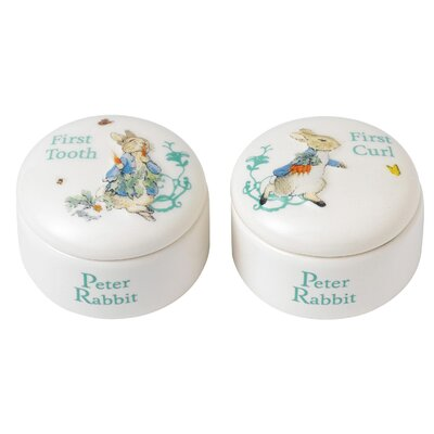 Beatrix Potter Peter Rabbit First Tooth and Curl Box