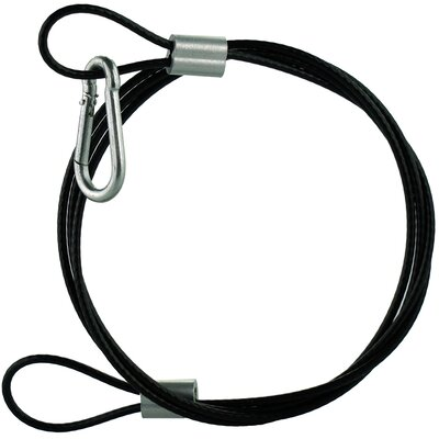 Rope Cord with Snap Hook Baffle