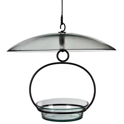 Recycled Glass Weather Baffle Dome Color: Clear