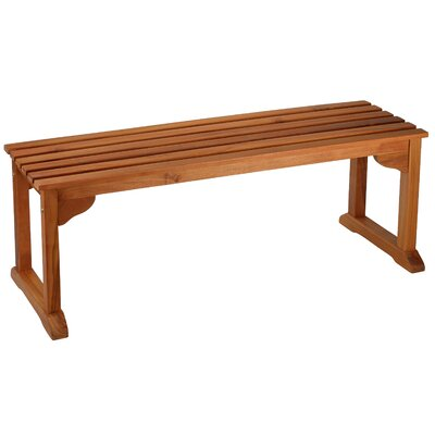 Kenshawn Wood Bench