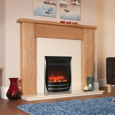 BFM Lamela Inset Electric Fireplace