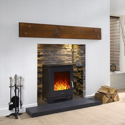 BFM Metal Electric Fireplace