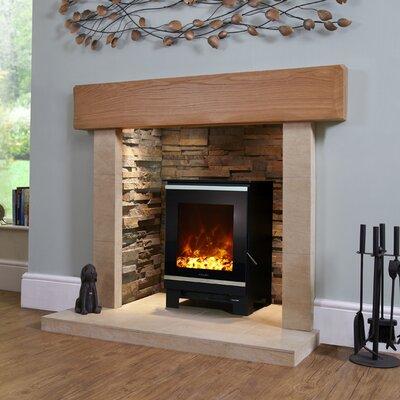BFM Glass Electric Fireplace