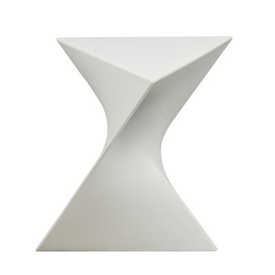 Randolph Vanity Stool Finish: White