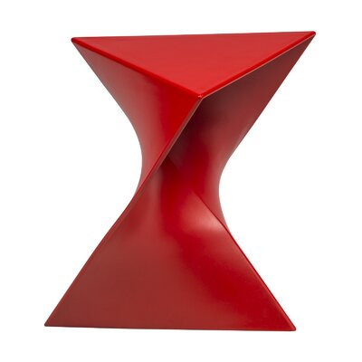 Randolph Vanity Stool Finish: Red