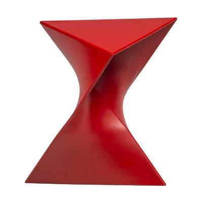 Randolph Vanity Stool Finish: Red