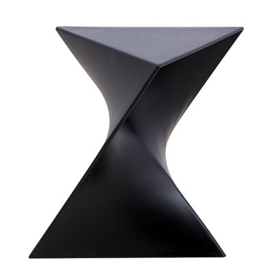 Randolph Vanity Stool Finish: Black