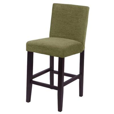 """Bottorff 26"""" Bar Stool Upholstery: Moss Green"""
