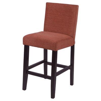 "Bottorff 26"" Bar Stool Upholstery: Burnt Orange"