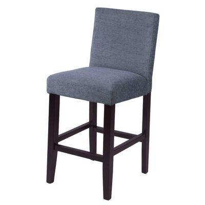 "Bottorff 26"" Bar Stool Upholstery: Smokey Blue"
