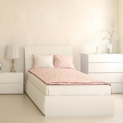 Chelsey Platform Bed with Storage Size: Twin