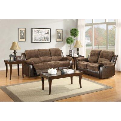 Wagnon Configurable Genuine Leather Living Room Set