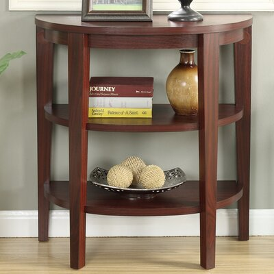 Riley Console Table Color: Mahogany