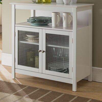 Cendrillon Wood Storage 2 Door Accent Cabinet
