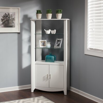 Wentworth 2 Door Accent Cabinet Color: Pure White
