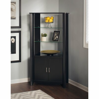 Wentworth 2 Door Accent Cabinet Color: Classic Black
